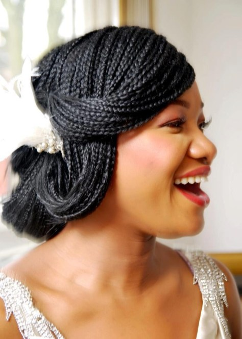 Micro Braid Wedding Hairstyles