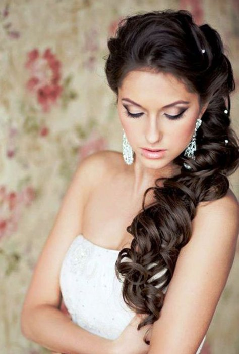 Perfect wedding hairstyles for long hair