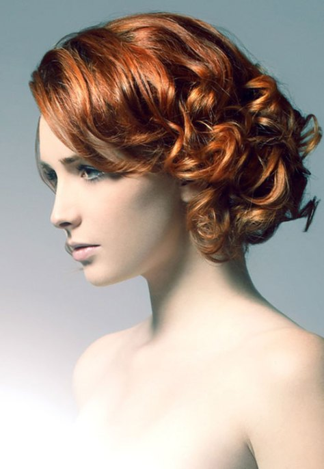 Pretty Short Hairstyles for Curly Hair