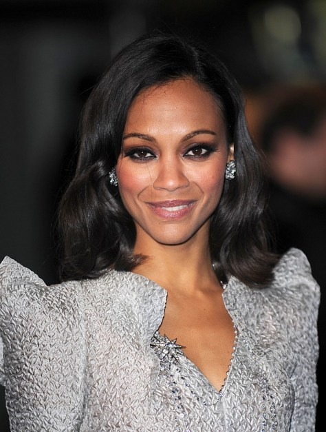 Saldana Zoe Shoulder-Length Hairstyle