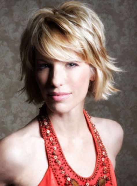 Short Choppy Layered Hairstyles