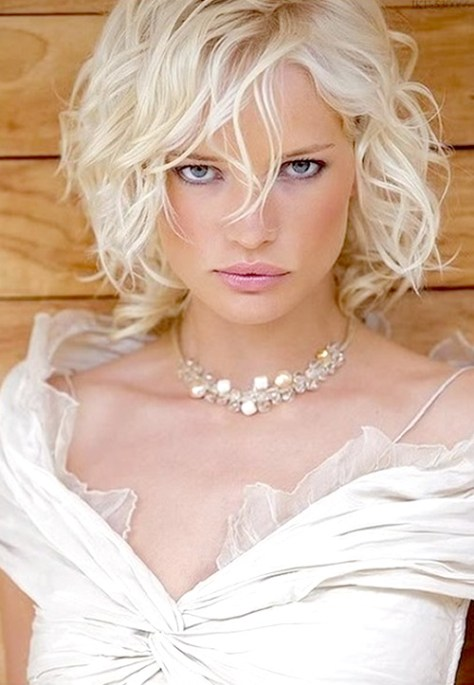 Short Curly Hair Wedding Hairstyles...