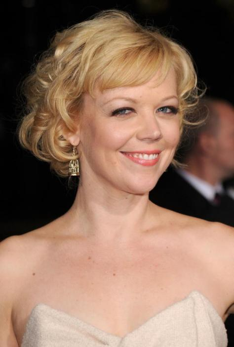 """HOLLYWOOD - NOVEMBER 22: Actress Emily Bergl arrives at the """"Faster"""" Los Angeles Premiere at Grauman's Chinese Theatre on November 22, 2010 in Hollywood, California. (Photo by Jason Merritt/Getty Images)"""