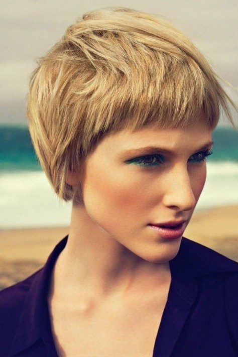 Short Hairstyles Thick Hair....