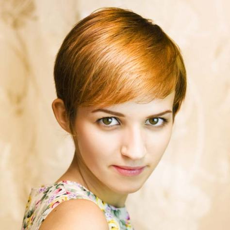 Short Hairstyles for Girls with Thick Hair