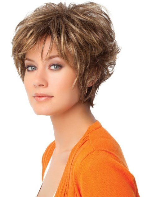 Short Layered Hairstyles Thick Hair