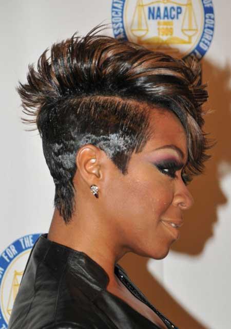 Short Mohawk Hairstyles Black Women