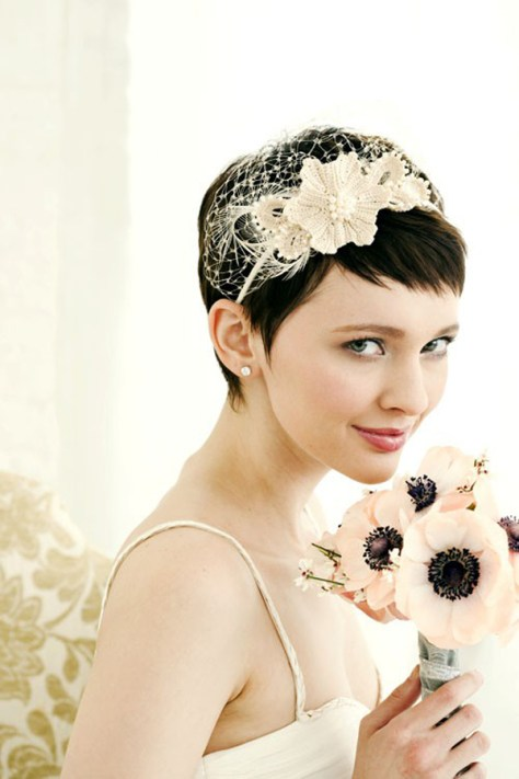 Short Wedding Hair Ideas (2)