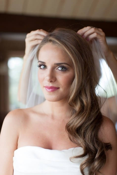 Side Swept Wedding Hairstyles Long Hair