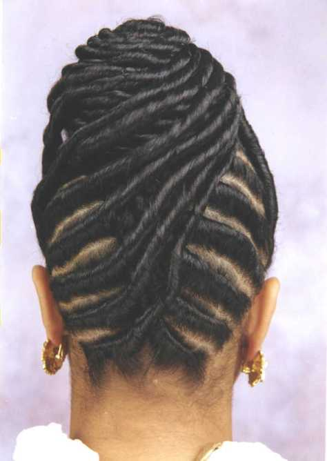 Twist Braids Hairstyles Black Women