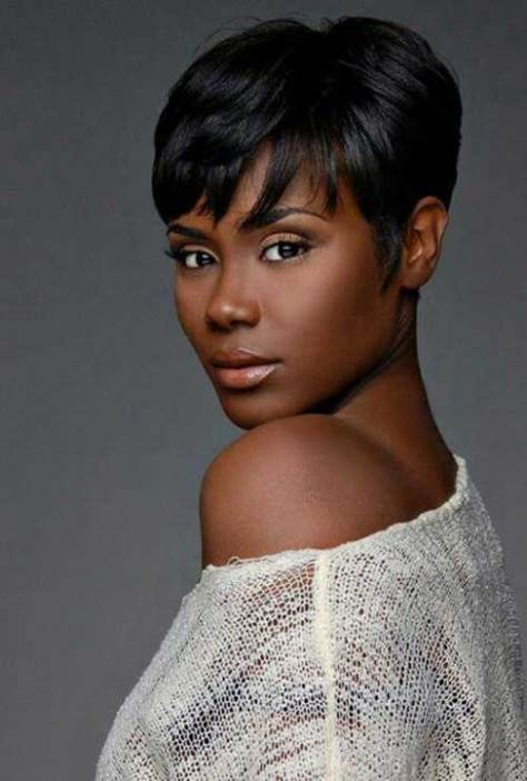 Unusual Short Haircuts for Black Women