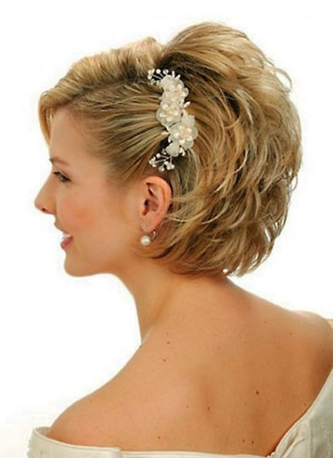 Wedding Hairstyles Short Hair