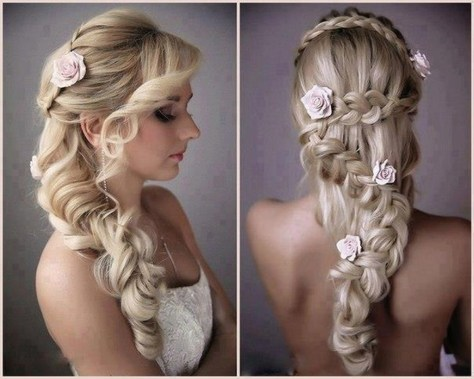 bridal hairstyles for long hair 2016