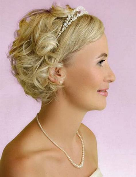 pretty prom hairstyles for short hair with updos ...
