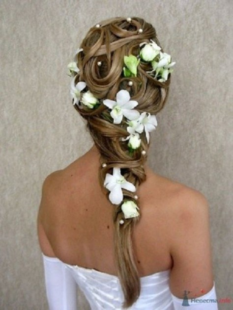 2016 Wedding Hairstyle for Long Hair