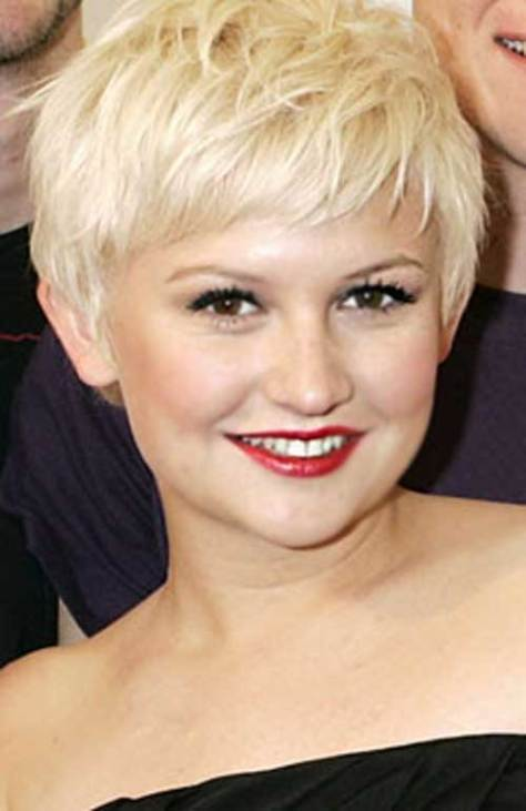 Best Easy Short Hairstyles for Round Faces 2016