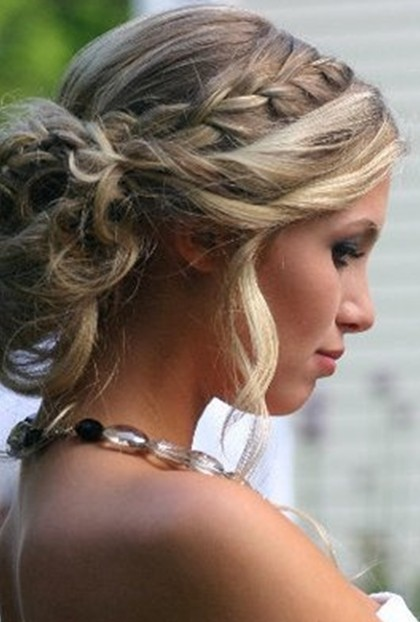 Braid Prom Hairstyles Updos for Long Hairs