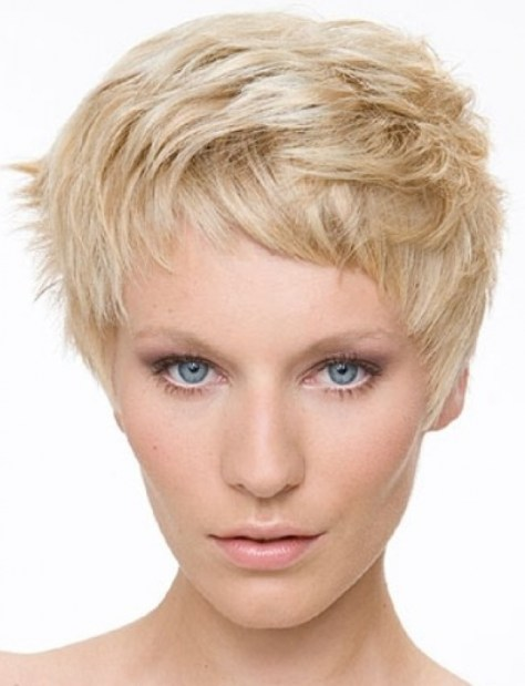Choppy Layered Hairstyles Short Hair