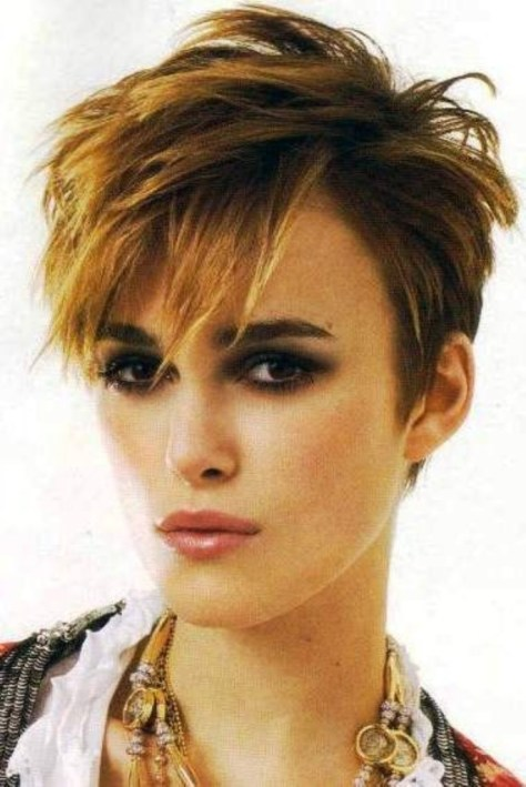 Cute Short Choppy Hairstyles for Girls