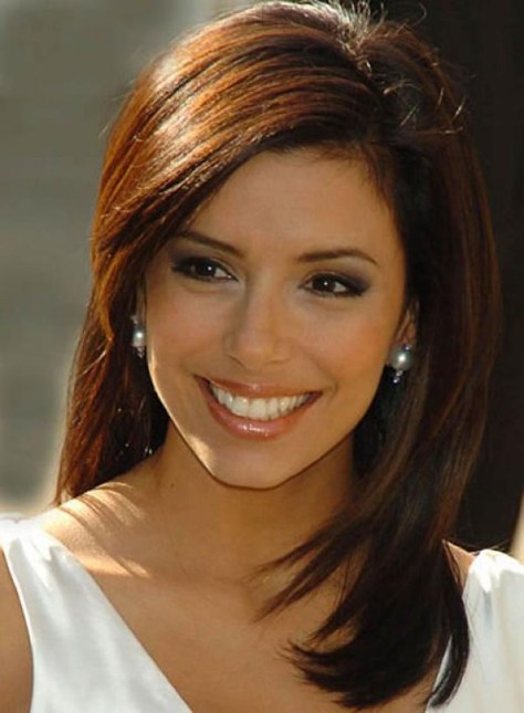 Eva Longoria Medium Hair Styles Color