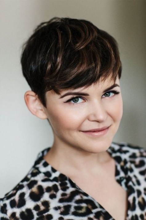 Ginnifer Goodwin Short Pixie Hair Cut