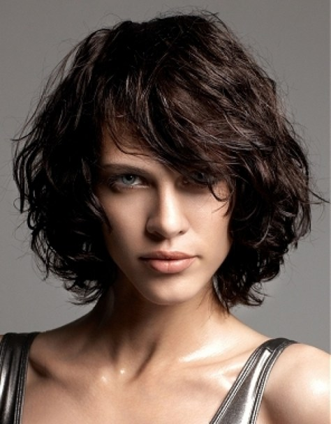 Layered Bob Hairstyles Curly Hair