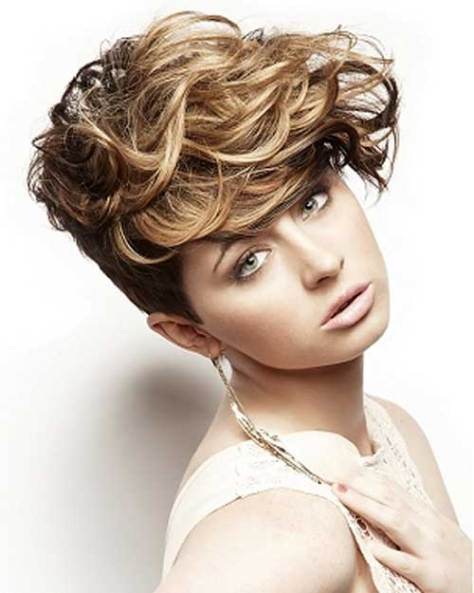Short Curly Haircuts