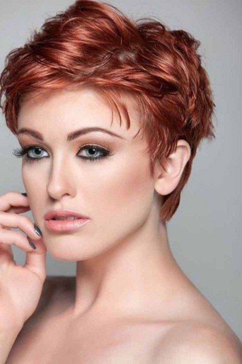 Short Hairstyles Oval Face Thick Hair