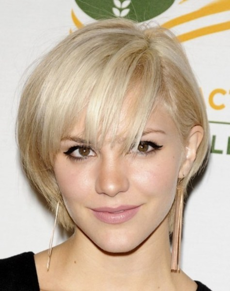 Short Hairstyles for Women with Fine hair.