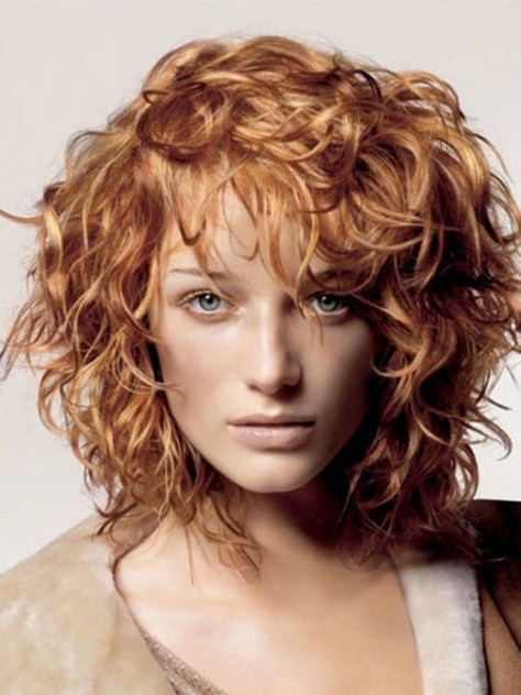 Stylish Haircuts For Curly Hair...