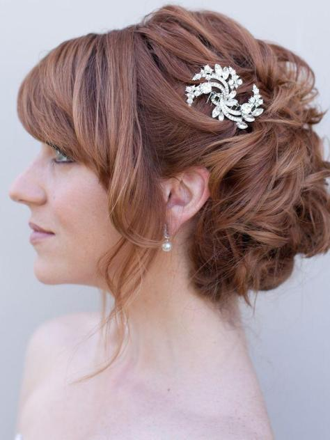 Updo hair styles for wedding