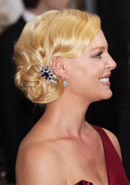 Vintage Updo Hair Style