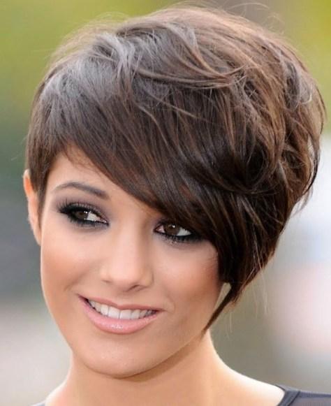 Womens short haircuts for thick hair
