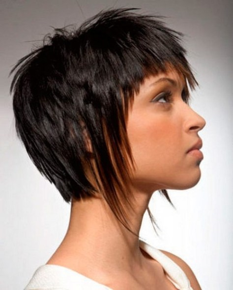 beautiful short haircut for girls
