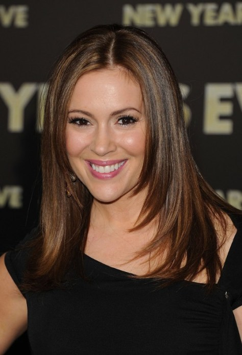 Alyssa Milano Long Hair