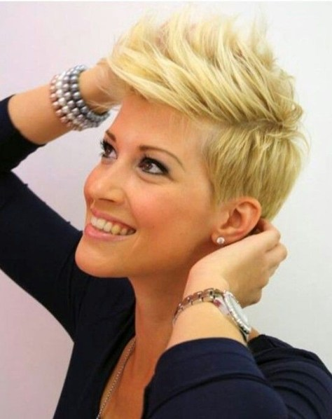 Faux Hawk Hairstyles for Short Hair