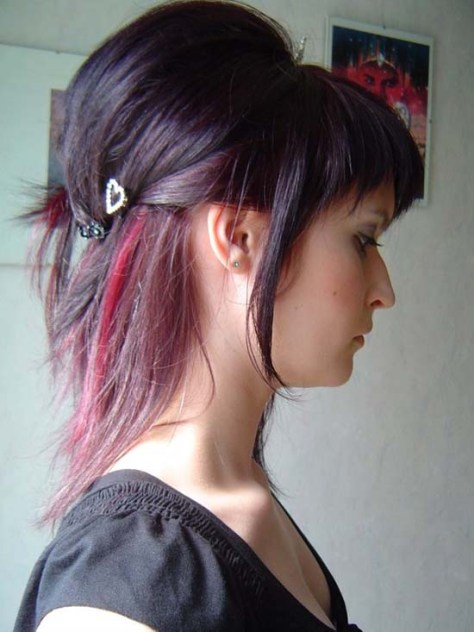 Funky Hairstyles for Medium Length Hair ..