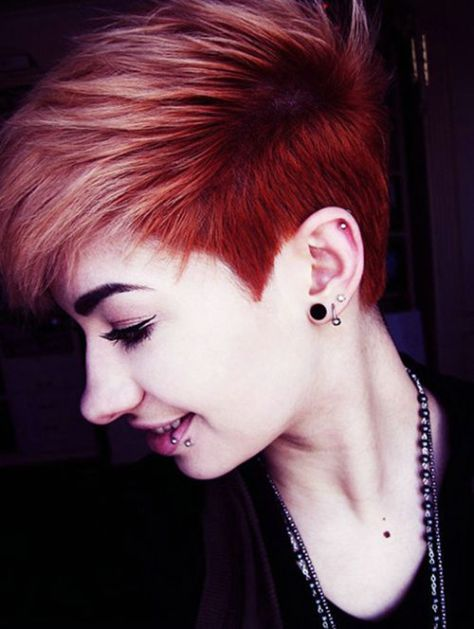 Funky Short Hairstyles 2016