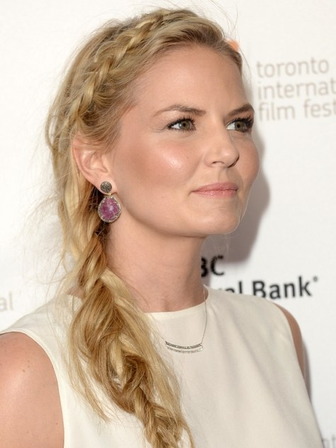Jennifer Morrison Braid Hair