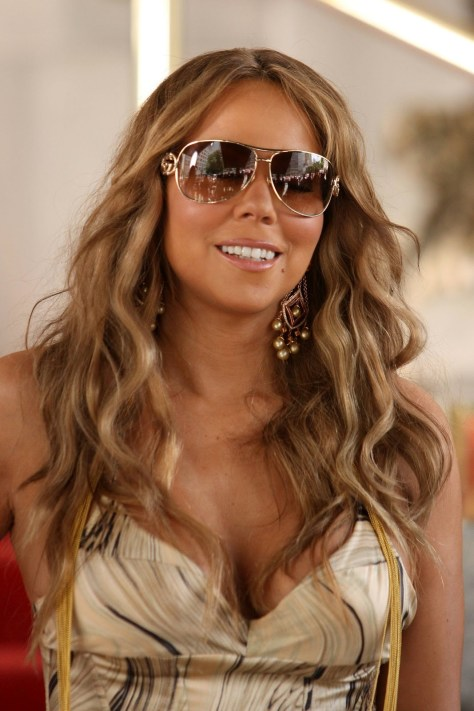 Mariah Carey Long Hair