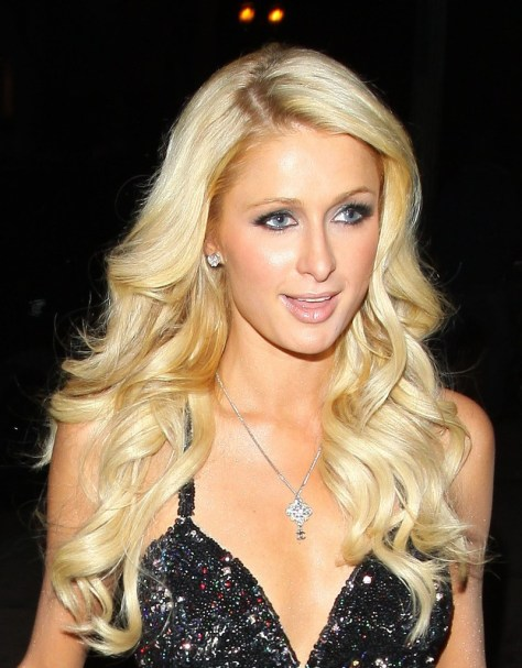 Paris Hilton Hairstyle for Long Hair