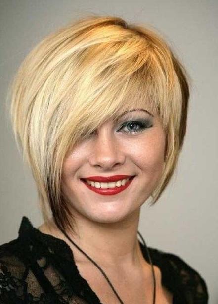 Short Hair Asymmetrical Haircuts