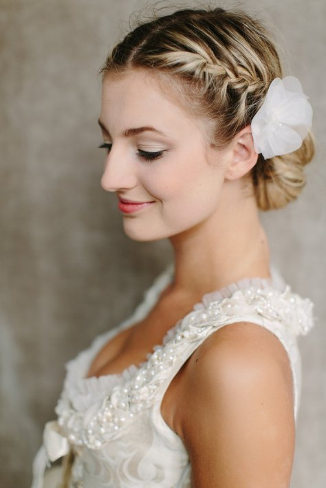 Wedding Side Bun Hairstyles ideas