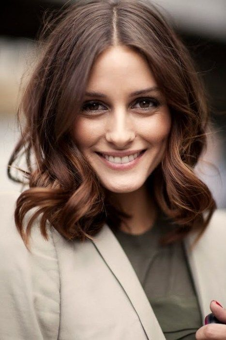 brunette medium length hairstyles