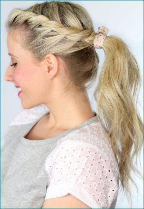 wedding hairstyles ponytail