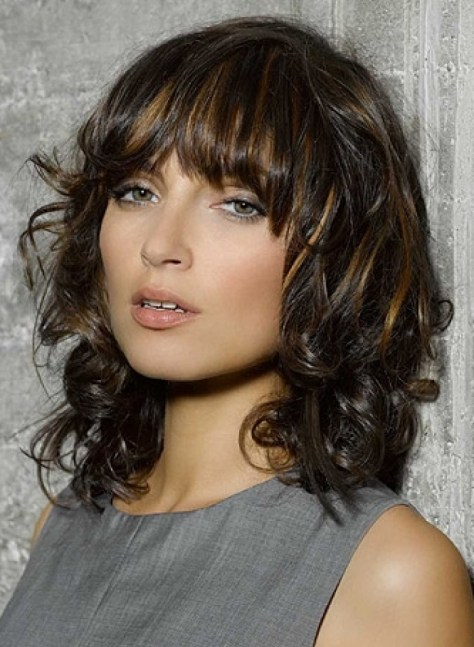 trendy medium length hairstyles