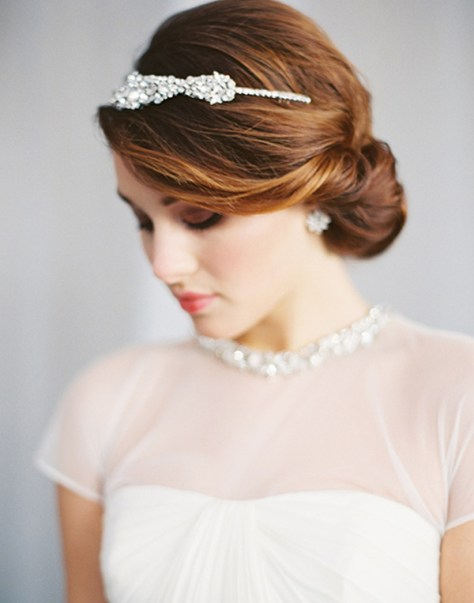 elegant wedding hairstyles