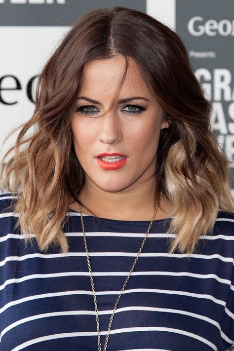 medium length hairstyles ombre