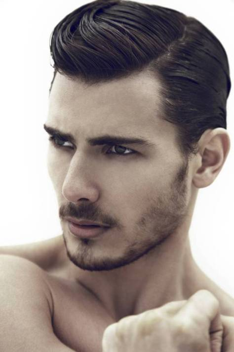 hairstyles for men side part