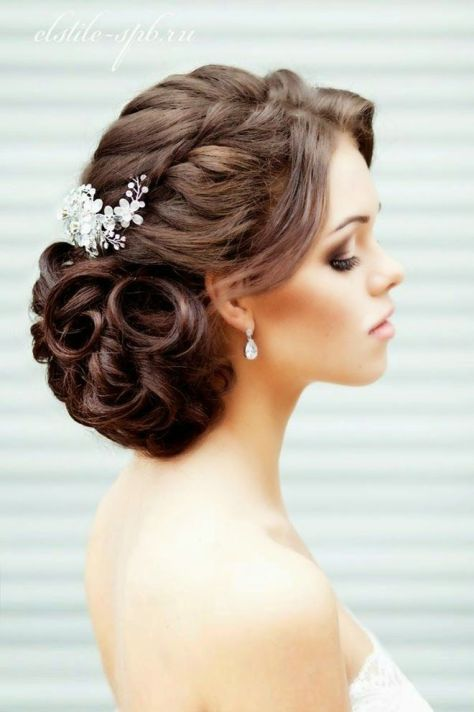 wedding hairstyles trenza